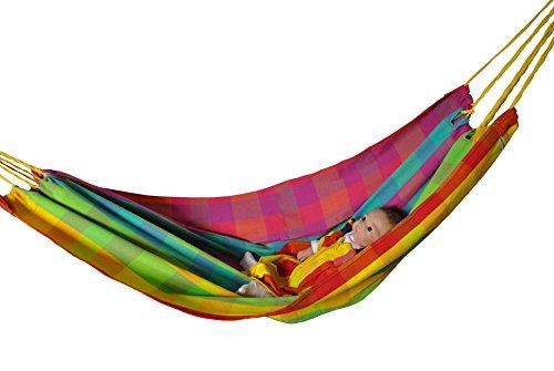 Hängematte Regenbogen für Baby und Kind